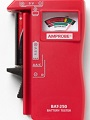 AM-BAT250 Batterietester 9V...Knopfz.